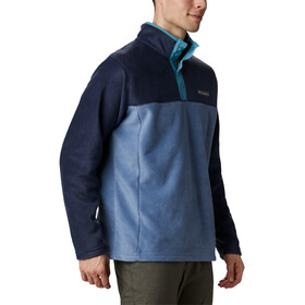 Columbia Steens Mountain Suéter Botones Clip Hombre, azul